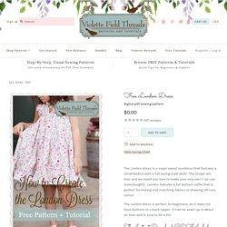 Free London Dress – Violette Field Threads