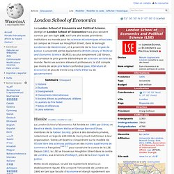 1895 London School of Economics