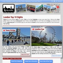 London Top 10 Sights - Explore the Highlights
