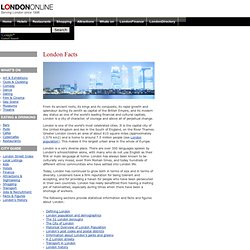 London Facts & Figures