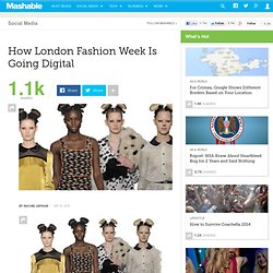 How London Fashion Week Is Going Digital