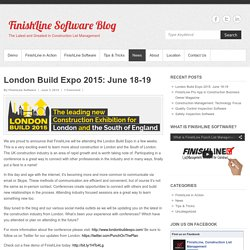 London Build Expo 2015: June 18-19