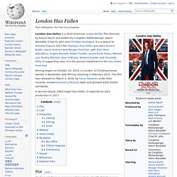 London Has Fallen - Wikipedia