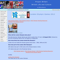 London Olympic Games 2012 - Facts and information