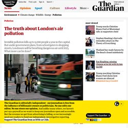 The truth about London's air pollution