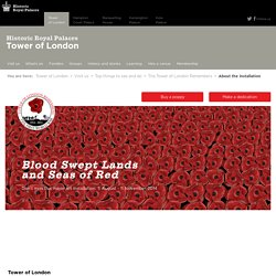 Tower of London Remembers - About the installation