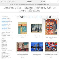 London Gifts - T-Shirts, Art, Posters & Other Gift Ideas
