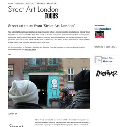 London street art tours from Street Art London