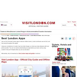 Best London Apps - Traveller Information