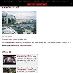 London ⋆ WebEnglish.se