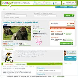 London Zoo, London Zoo Tickets