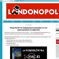 Londonopoly: Fiszki PLUS 10 nietypowych pomysłów na ich wykorzystanie na zajęciach