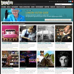 LondonTown.com | Best London hotels, tickets, tours, maps and more ...