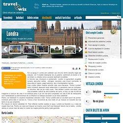 Despre Londra, poze si imagini din Londra, harta Londra