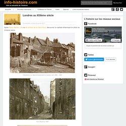 Londres au XIXème siècle