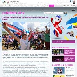 Londres 2012 procure des bienfaits économiques qui durent