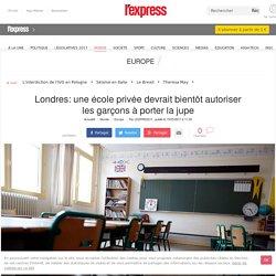 Londres: une école privée devrait bientôt autoriser les garçons à porter la jupe