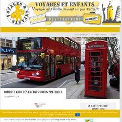 Londres en famille: infos pratiques