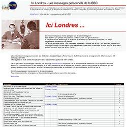 Ici Londres - Les messages personnels de la BBC