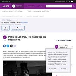 Podcast - Paris et Londres, les musiques en migrations