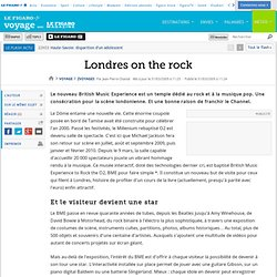 Voyages : Londres on the rock