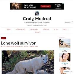 Lone wolf survivor – Craig Medred