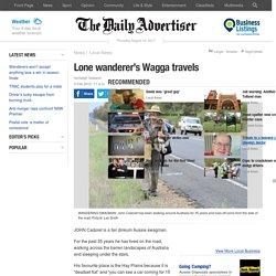 Lone wanderer's Wagga travels