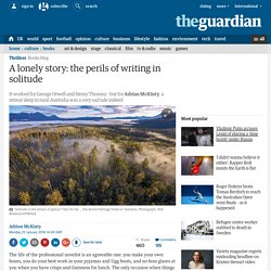 A lonely story: the perils of writing in solitude