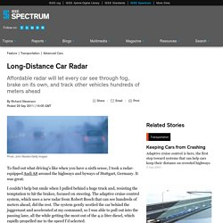 Long-Distance Car Radar