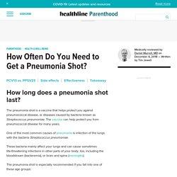 How Long Does a Pneumonia Shot Last?
