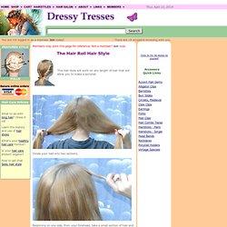 Long hair styles: Hair Roll Hairstyle
