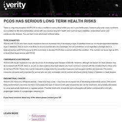 LONG TERM HEALTH - Verity - The UK PCOS Charity