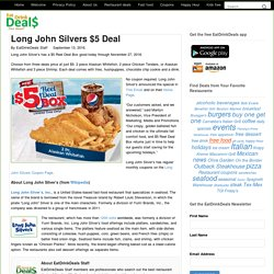 Long John Silvers $5 Deal