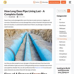 How Long Does Pipe Lining Last - A Complete Guide
