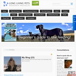 Long Living Pets - My Blog