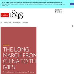 The long march from China to the Ivies