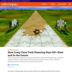 How Long-Term Tech Planning Pays Off—Now and In the Future