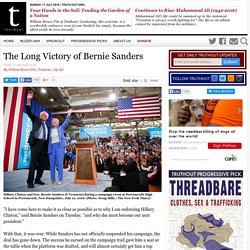 The Long Victory of Bernie Sanders