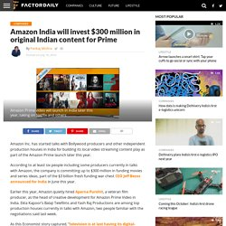Not a long wait for Amazon Prime in India now