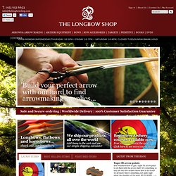 Longbows | The Longbow Shop