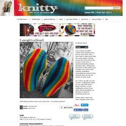 Longitudinal : Knitty First Fall 2012
