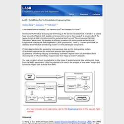 LASR - Longitudinal Analysis and Self Registration