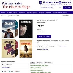 Longmire Seasons 1-4 (DVD) – Pristine Sales