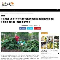 Planter une fois et récolter pendant longtemps: Voici 8 idées intelligentes - Jardin de Grand Meres