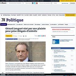 Gérard Longuet visé par une plainte pour prise illégale d'intérêts