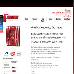 Fire Alarms Installation Experts in Montreal