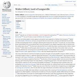 Walter Giffard, Lord of Longueville
