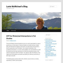 Lonie McMichael's Blog