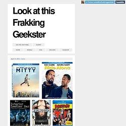 Look at this Frakking Geekster