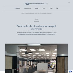 New look, check out our revamped showroom